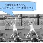ソフトテニス前衛のスマッシュの基本の打ち方